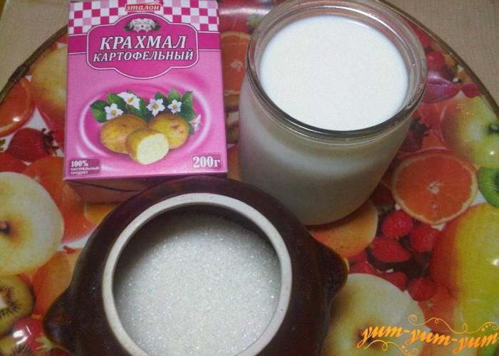 Как варить кисель из крахмала и варенья рецепт пошагово