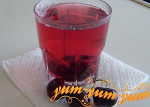 напиток из вишни готов