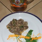 Острые куриные сердца в кунжуте под соевым соусом рецепт с фото