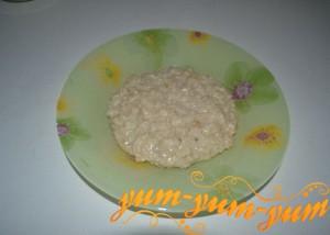 Овсяная каша с молоком рецепт фото