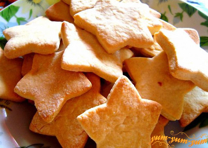 Печенье на сливках рецепт пошагово