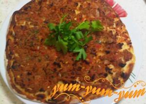 Пицца в аэрогриле по-турецки рецепт с фото