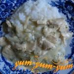 Подлива из куриного филе рецепт с фото