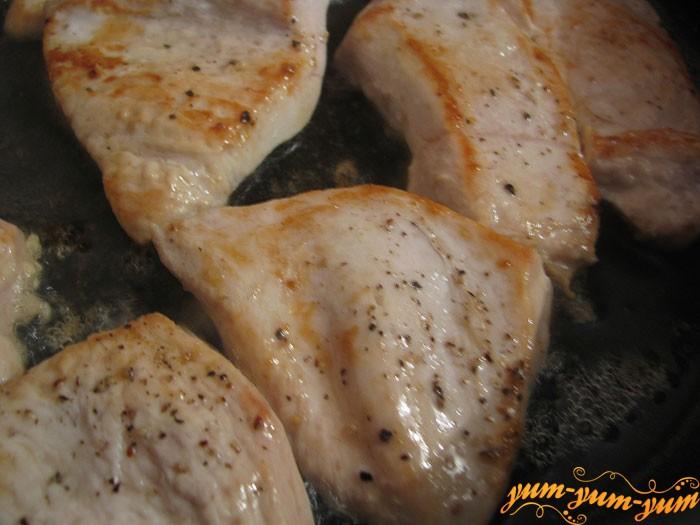 Подготавливаем куриное филе