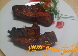 Свиные ребрышки в аэрогриле рецепт с фото