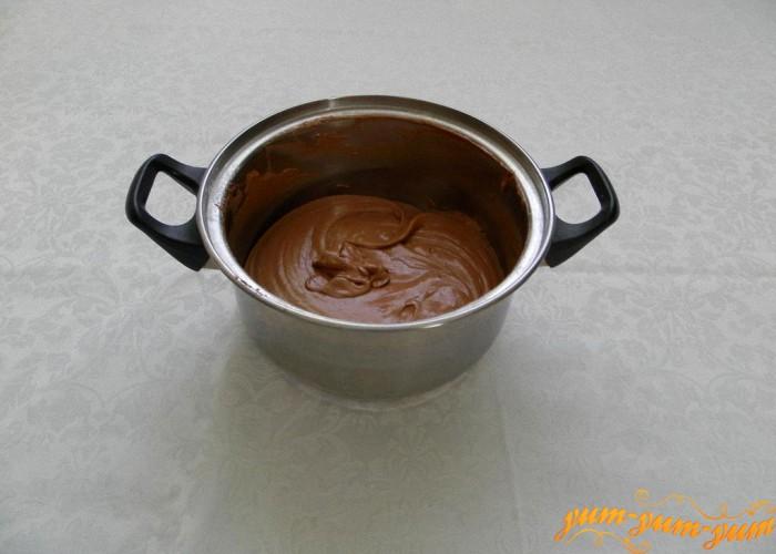шоколадное тесто для коржа