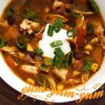 Куриный суп с чили рецепт с фото