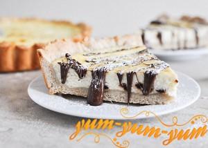 Пирог со сливочным сыром рецепт с фото