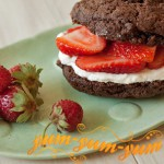 Клубнично–шоколадный дуэт рецепт с фото