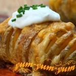 Зубчатый картофель рецепт с фото