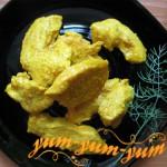 Готовая куриная грудка в апельсиновом соке