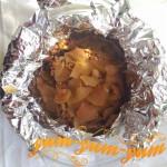 Готовая свинина запеченная в фольге