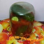 Готовые огурцы в томатном соке на зиму