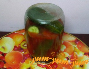 Огурцы в томатном соке на зиму рецепт