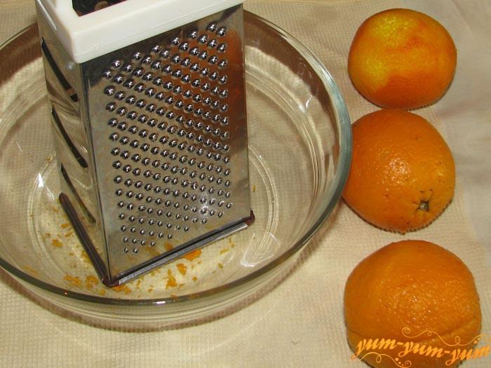 Готовим соус с апельсинов