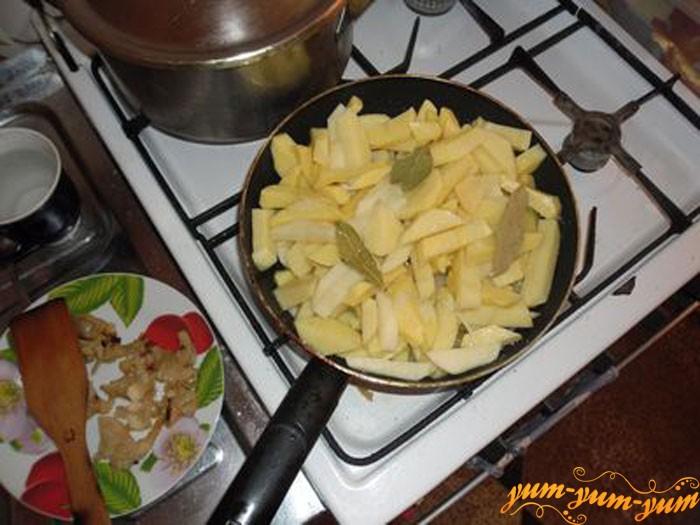 Картошку режим соломкой