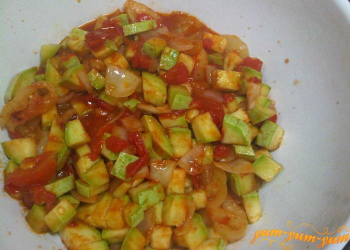 Обжариваем овощи до готовности