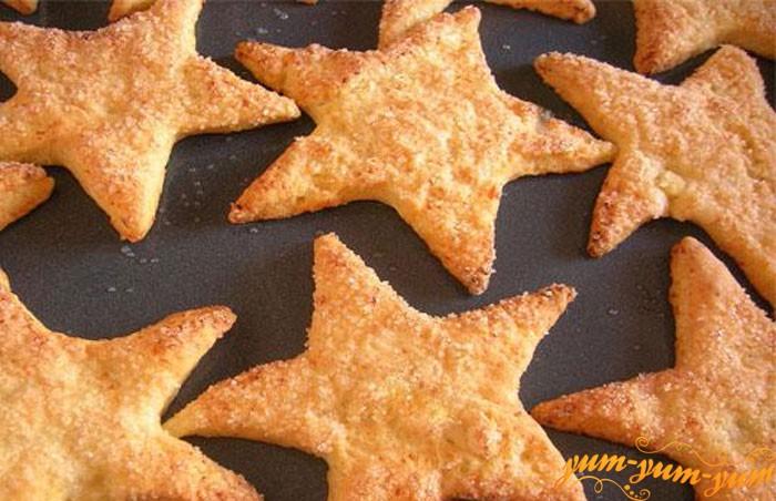 Печенье из творога подаем на стол