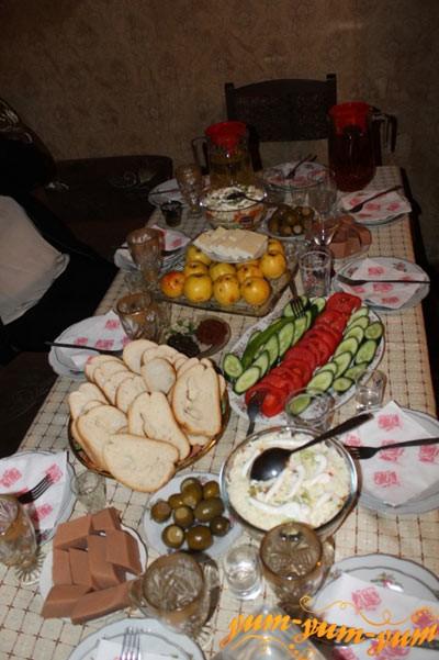 Ужин на Кавказе