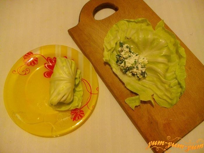 Подготавливаем молодую капусту