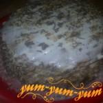 Приготовление медово-орехового торта