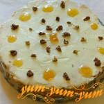 Приготовление морковного торта со сметанным кремом