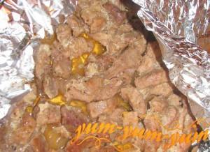 Приготовление свинины по-императорски в янтарном соусе
