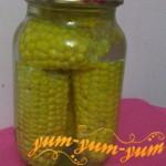 Заготовка кукурузы на зиму в початках