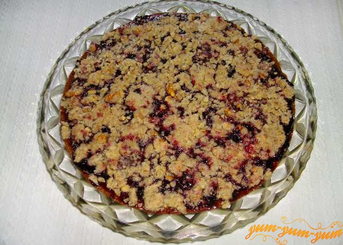 Крем с орехами и коньяка для торта