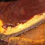 Рецепт чизкейка с тыквенным суфле