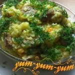 Рецепт домашнего плова с говядиной и грибами