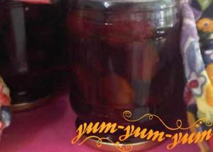 Рецепт домашнего сливового компота