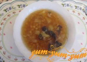 Рецепт горохово-грибного супа