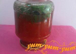 Рецепт консервированных помидор в собственном соку