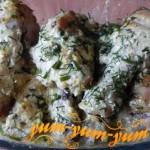 Рецепт куриных ножек в майонезном соусе