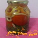 Рецепт маринованных помидоров с перцем