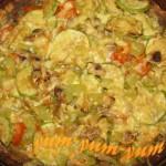 Рецепт пирога из картофельного теста с грибами и сыром
