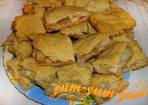 Рецепт пирога на пивном тесте