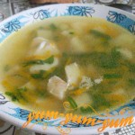 Рецепт рыбного супа из трески с картофелем и рисом