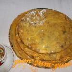 Рецепт торта с черной смородиной - Пьяный францисканец