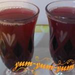 Рецепт компота из винограда и яблок на зиму