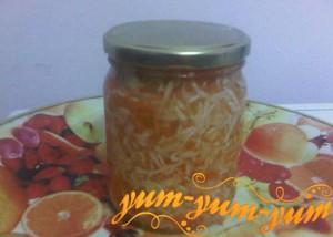 Рецепт квашеной капусты с морковью на зиму