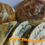 Рецепт приготовления булочек с маком в аэрогриле