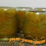Рецепт салата из зеленых помидор