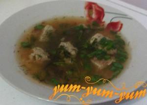 Рецепт супа с мясом и рисом
