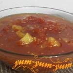 Рецепт варенья из красных помидор
