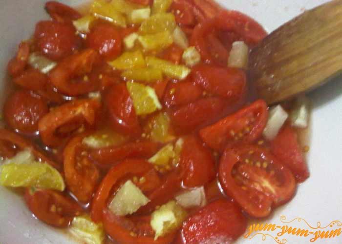 Варим варенье из помидоров пять минут
