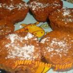 Готовые маффины для детей с морковью и корицей