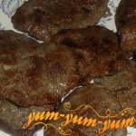 Готовые вкусные печеночные оладьи с картофелем