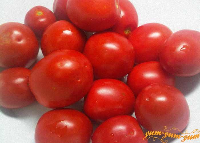 Выбираем спелые крепкие помидоры